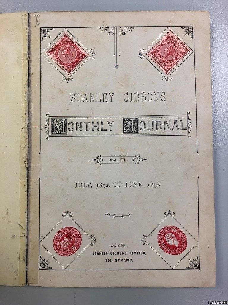 Stanley Gibbons Monthly Journal Vol