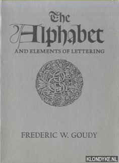 The Alphabet and Elements of Lettering