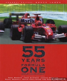 JONES, BRUCE D. - E.A. - 55 Years of the Formula One World Championship