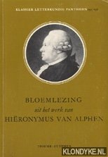 ALPHEN, HIËRONYMUS VAN - Bloemlezing uit het werk van Hiëronymus van Alphen