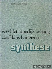ROVER, FRANS C. DE - Over 'Het innerlijk behang' van Hans Lodeizen