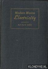SMITH, P. DE W. - Modern Marine Electricity