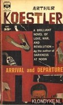 KOESTLER, ARTHUR - Arrival and departure