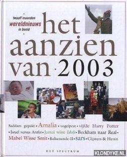 DIVERSE AUTEURS - Het aanzien van 2003