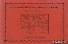 VOSSEN-DRIELING, WILLY - De avonturen van Bruintje Beer een en twintigste serie
