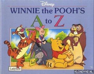MILNE, A.A. - Disney Winnie the Pooh's A tot Z