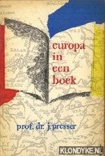 Presser, J - Boekenweek 1963. Europa in een boek