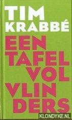 Krabbè, Tim - Boekenweek 2009. Een tafel vol vlinders