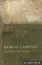 CAMPERT, REMCO - Beschreven blad