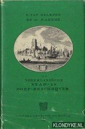 OLLEFEN, L VAN - De Nederlandsche stad- en dorp-beschrijver in 104 gravures en 7 kaarten