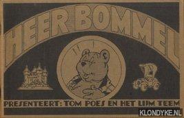 Toonder, Marten - Heer Bommel presenteert: Tom Poes en het lijm teken