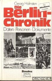 HOLMSTEN, GEORG - Berlin-Chronik. Daten . Personen. Dokumente