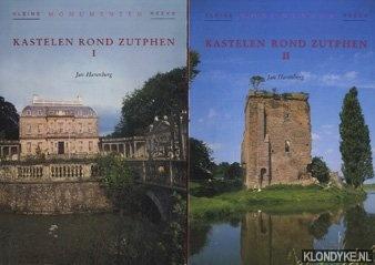 Harenberg, Jan - Kastelen rond Zutphen I + II (twee delen samen)