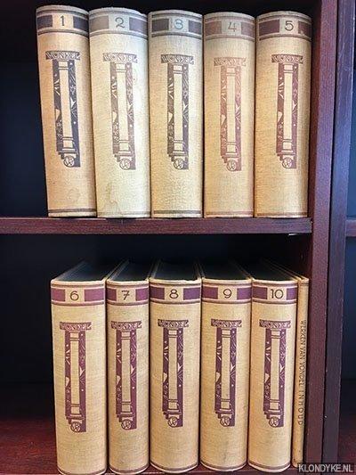 Vondel, Joost van den - De werken van Vondel Volledige en geïllustreerde tekstuitgave in tien deelen (+ los registerdeel)
