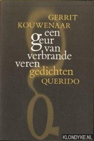 KOUWENAAR, GERRIT - Een geur van verbrande veren. Gedichten