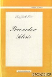 SIRRI, RAFFAELE - Bernardino Telesio
