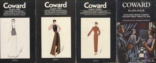 COWARD, NOEL & SHERIDAN MORLEY (INTRODUCED BY) - Plays (4 volumes)