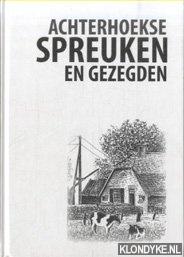 achterhoekse spreuken en gezegden Boekwinkeltjes.nl   Aken, Jan van   e.a.   Achterhoekse spreuken  achterhoekse spreuken en gezegden