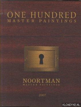 SCHAVEMAKER, E. - One Hundred Master Paintings - 2007