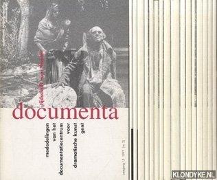 VOS, JOZEF DE - E.A. - Documenta. Tijdschrift voor theater. Mededelingen van het documentatiecentrum voor dramatische kunst Gent ( 17 nummers)