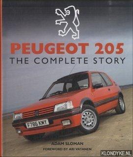 SLOMAN, ADAM - Peugeot 205. The Complete Story