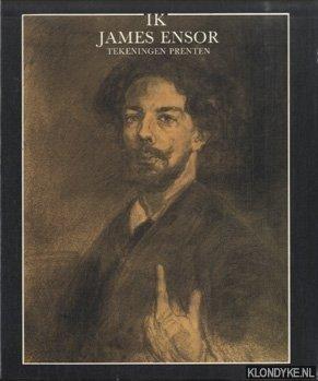 HOOZEE, ROBERT - Ik James Ensor. Tekeningen - prenten
