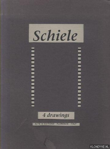 SCHIELE - Schiele - 4 drawings