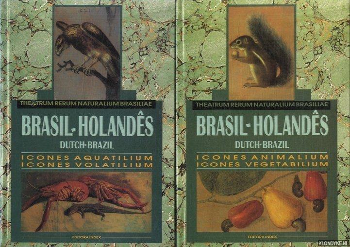 VARIOUS - Theatrum Rerum Naturalium Brasiliae. Brasil-Holandes; Dutch-Brazil (2 volumes in box)
