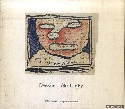 GEORGEL, PIERRE - Dessins d'Alechinsky