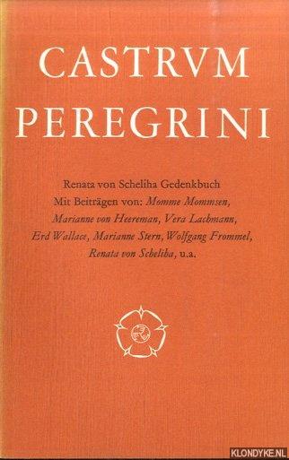 MOMMSEN, MOMME & MARIANNE VON HEEREMAN & VERA LACHMANN & ERD WALLACE & MARIANNE STERN & WOLFGANG FROMMEL & RENATA VON SCHELIA - A.O. (MIT BEITRAGEN VON) - Renata von Schelia Gedenkbuch