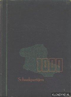 DIVERSE AUTEURS - 1000 Schaakpartijen. Gespeeld in 35 wedstrijden omstreeks 1939. Geregistreerd volgens wedstrijden, spelers, openingen, kenmerken, eindspelen