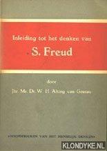 ALTING VAN GEUSAU, MR.DR. W.H. - Inleiding tot het denken van S. Freud