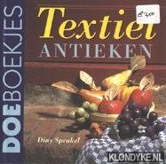 SPRAKEL, DINI - Textiel antieken