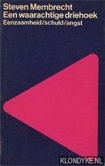 Membrecht, Steven - Boekenweek 1966. Een waarachtige driehoek. Eenzaamheid/schuld/angst