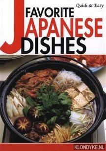 MORIYAMA, YUKIKO - E.A. - Quick & Easy. Favorite Japanese dishes